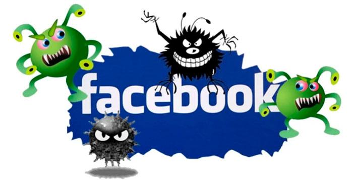 virus facebook - foto