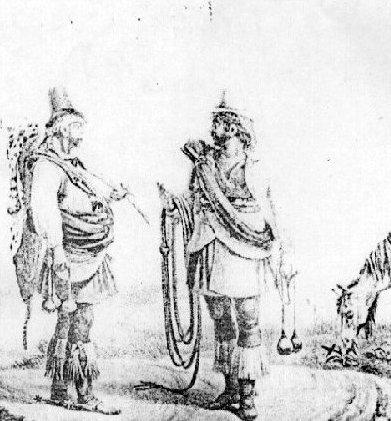 irece-estrangeiros-e-descendentes imagem ilustrativa dos primeiros bandeirantes