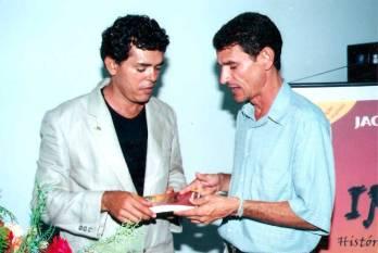 Presença do então deputado estadual Zé das Virgens no lançamento da 2ª ed. do livro Irecê - História, Casos e Lendas