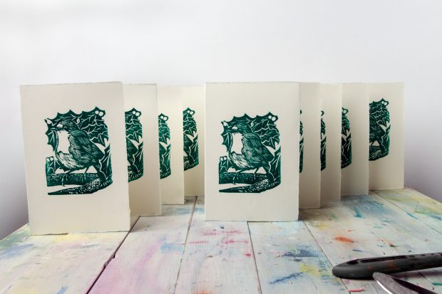 How To Make Your Own Linocut Christmas Cards Jacksons