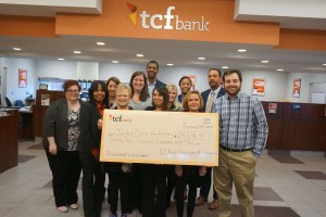 TCF Bank donates $24,018.09 to JACK'S PLACE for Autism