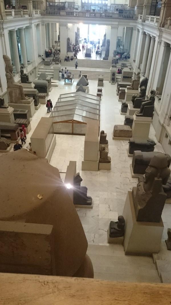 The Center Atrium of the Museum
