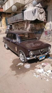 An Old Car of Cairo