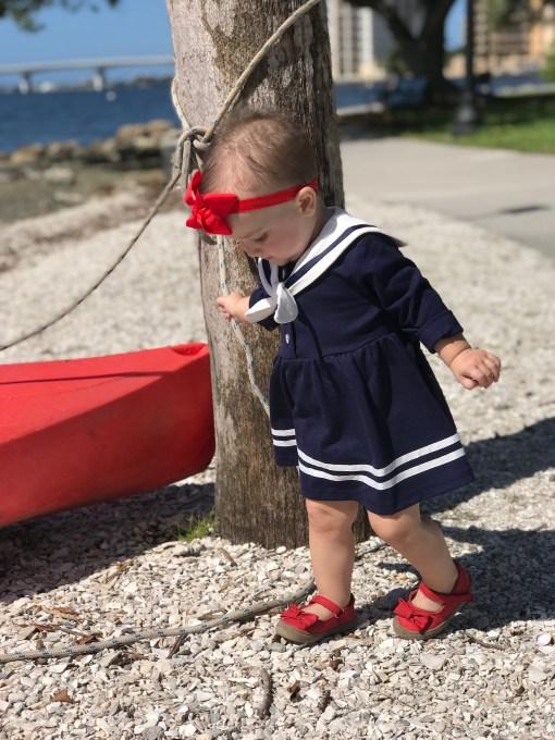 Sailor dress sailor suit
