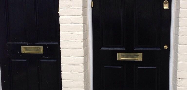 Painted a front door