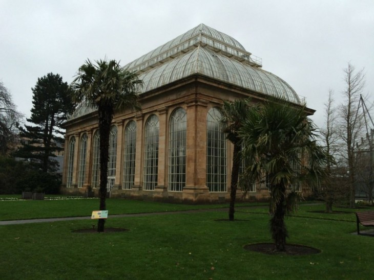 Victorian glasshouse at Royal Botanic Garden Edinburgh