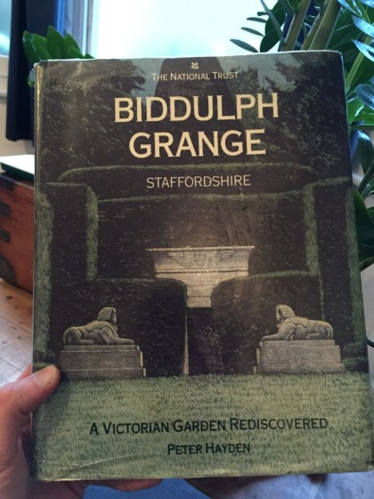 I bought this 16 year old National Trust book on Amazon for 1p.