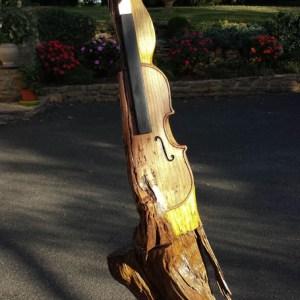 Et la femme créa le violon 120 cm Frêne