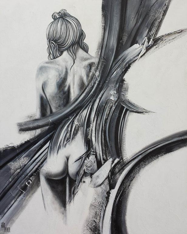 Nudité - 80x100 cm