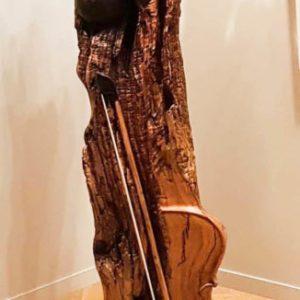 Naissance de la violoniste - 152 cm Olivier