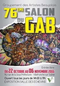 Affiche GAB 2016