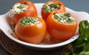oeufs cocotte en tomates