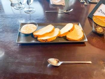 Brot im Restaurant