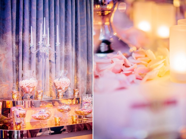Wedding Sweet Bar at the Dorchester Hotel in London