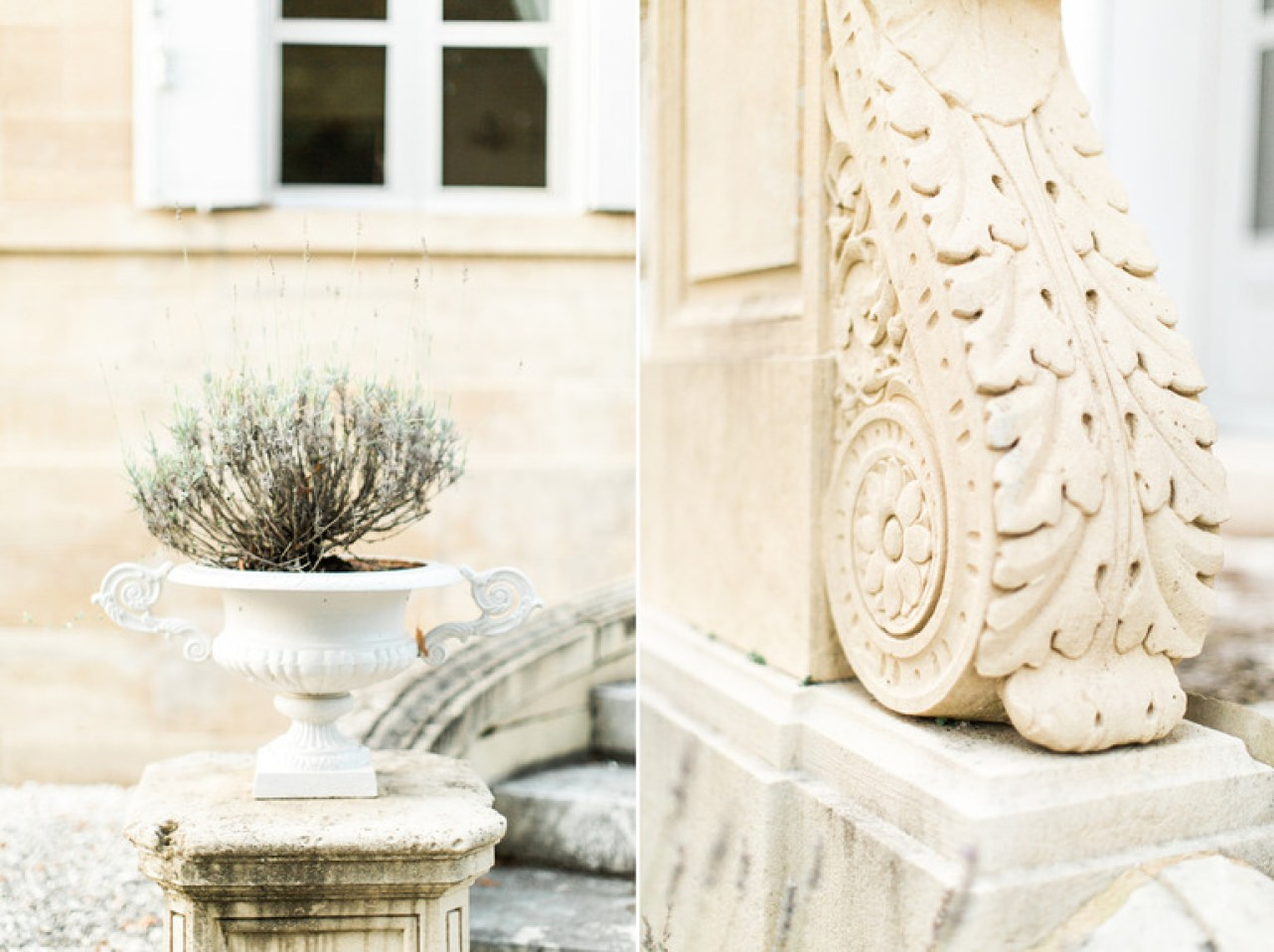 Outside Details at Chateau la Durantie in France
