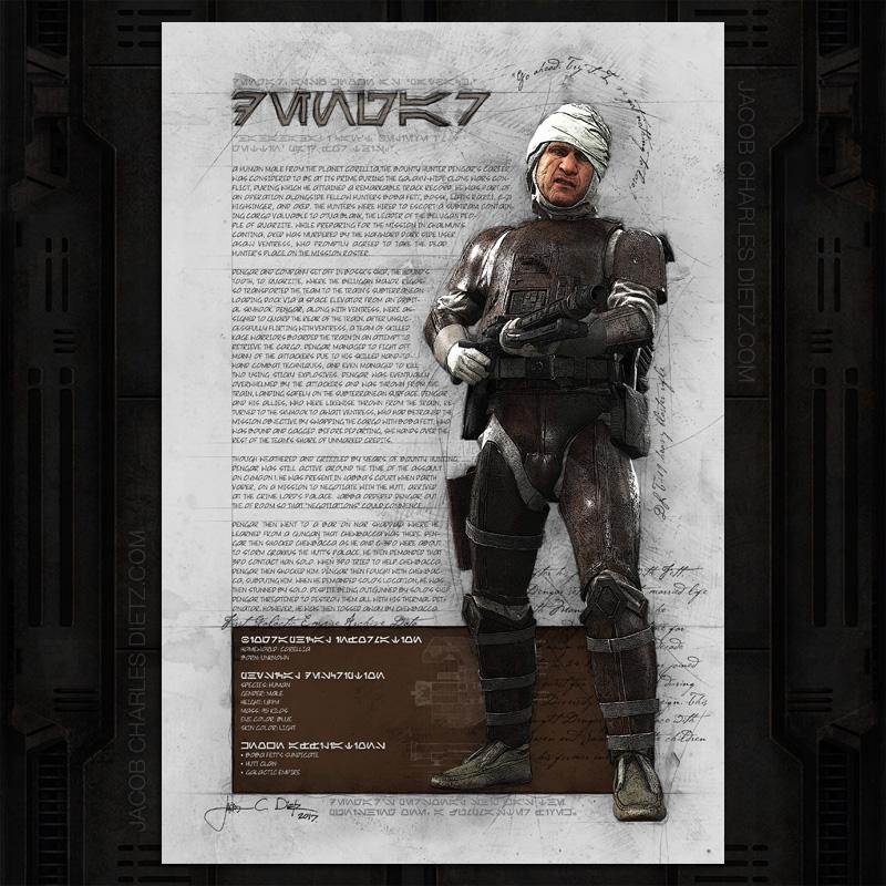 star-wars-dengar-the-bounty-hunter-artwork