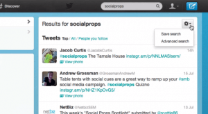 With Twitter Saved Search you won't have to waste your time typing in your favorite queries