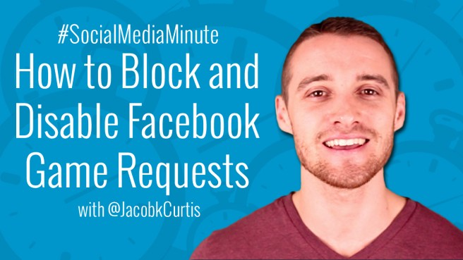 how to video to block and disable Facebook game invites from facebook friends