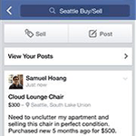 sell things on facebook