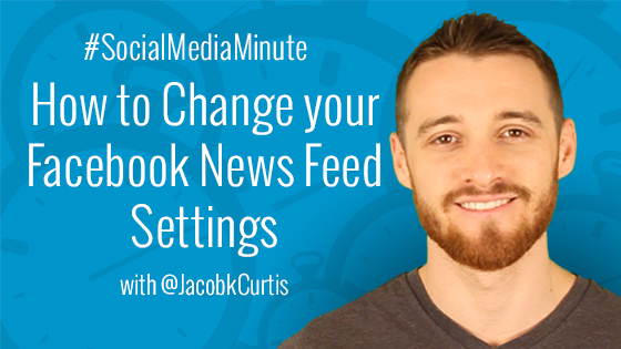 How to Change your Facebook News Feed Preferences Video Tutorial