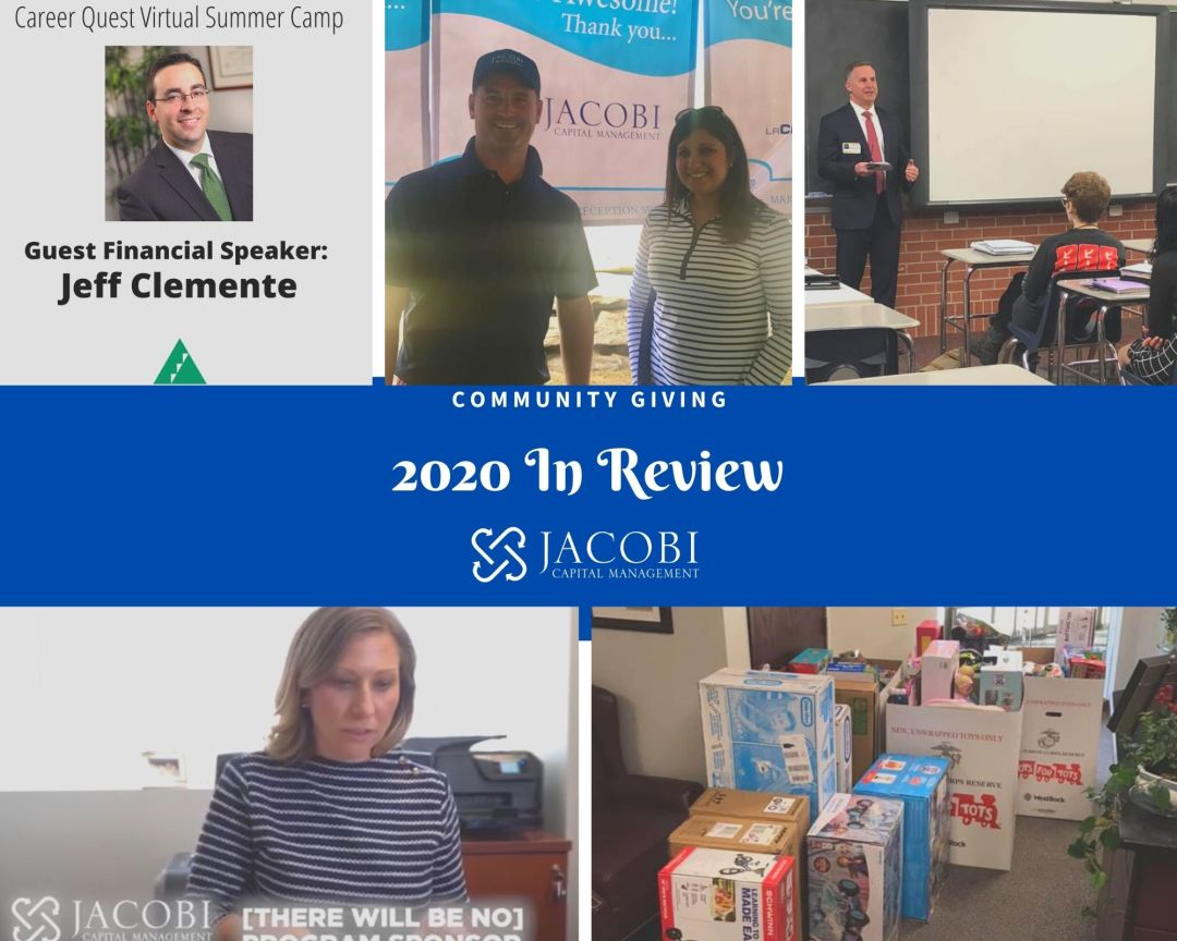 2020 - 2020: A Year of Giving
