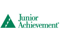 Junior Achievement logo - Community Giving