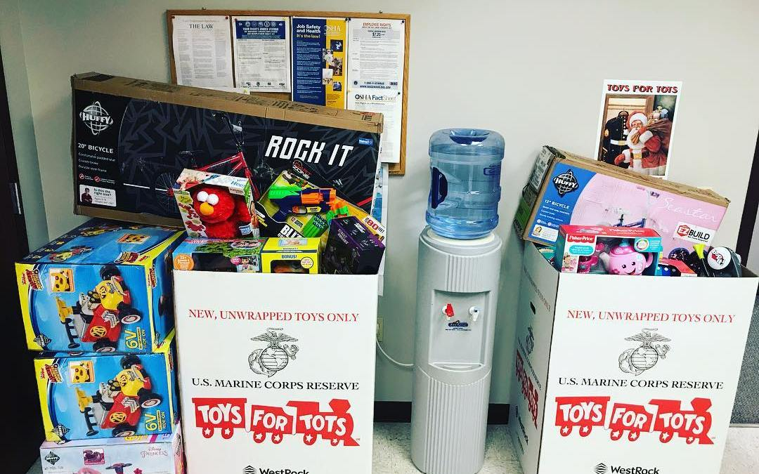 Another Toys for Tots Success!
