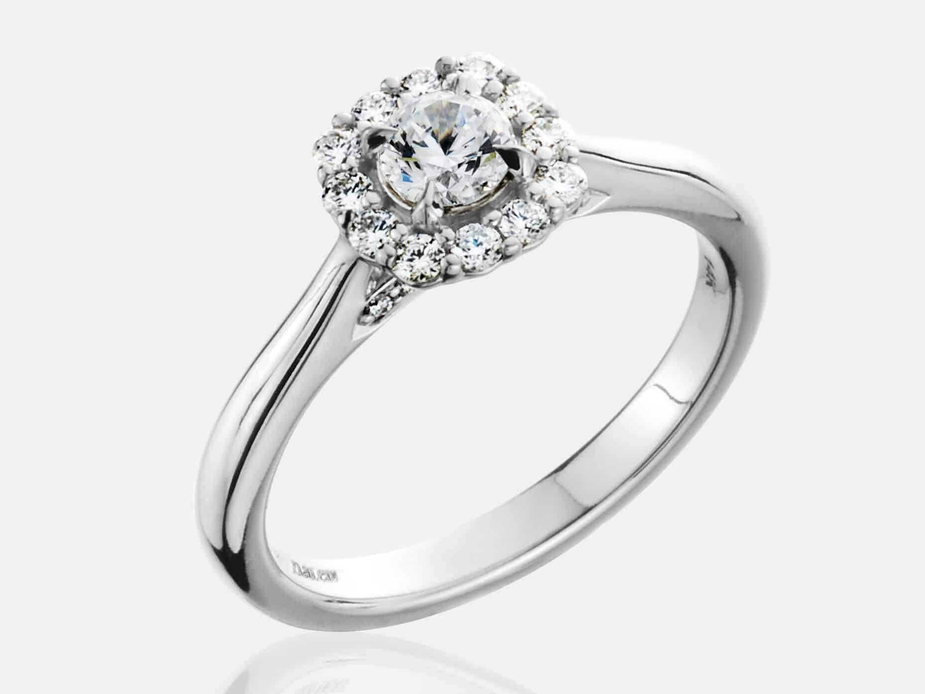 engagement rings profile tolkowsky seamless halo collection dousset prev ring luna jean
