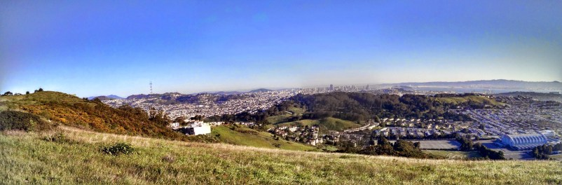 Early morning walk at San Bruno Mountain