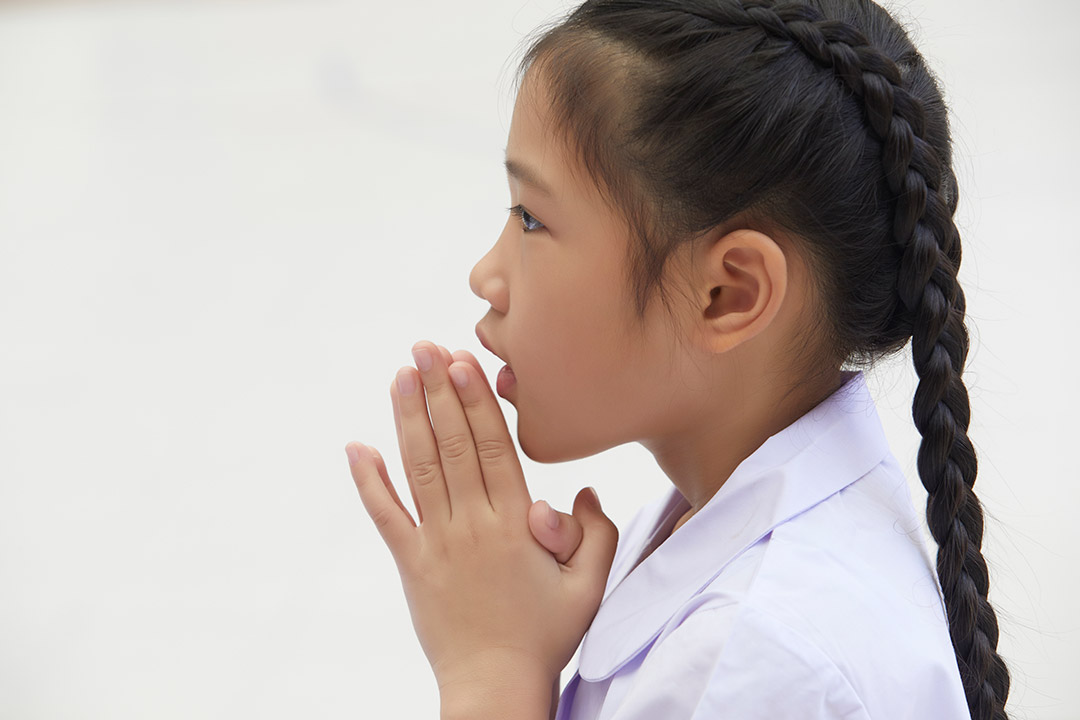 Connecting to God when you pray