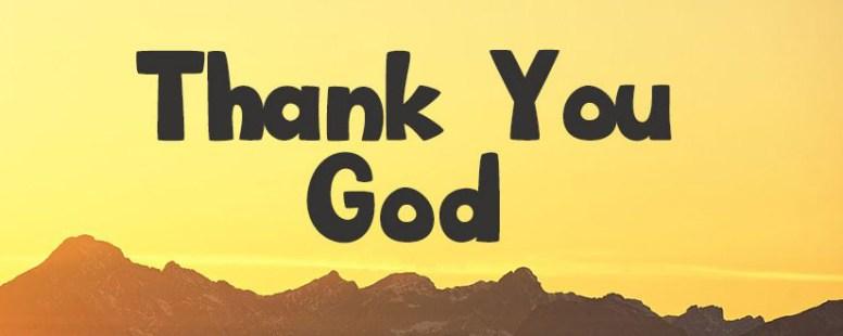 "November 2020 Prayer Points – ""I Give You Thanks"""