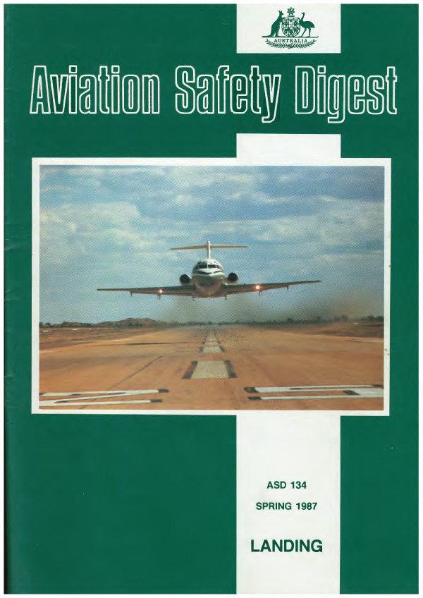 Aviation Safty Digest, Spring 1987