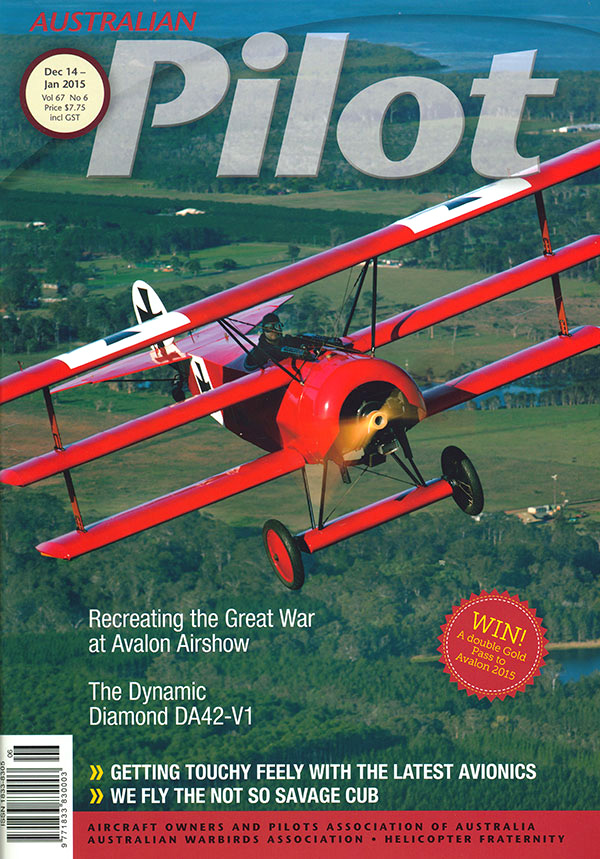 """""""…rewards good flying with a repeatable, gentle touchdown."""" – AOPA's Australian Pilot Magazine"""