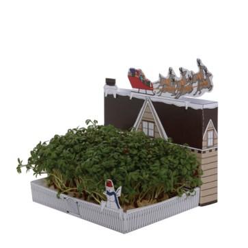 matchcarden domek świąteczny