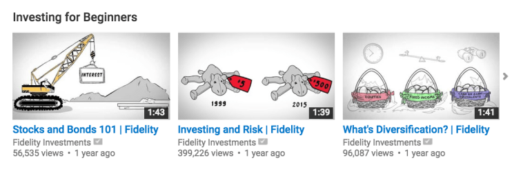 fidelity investments youtube