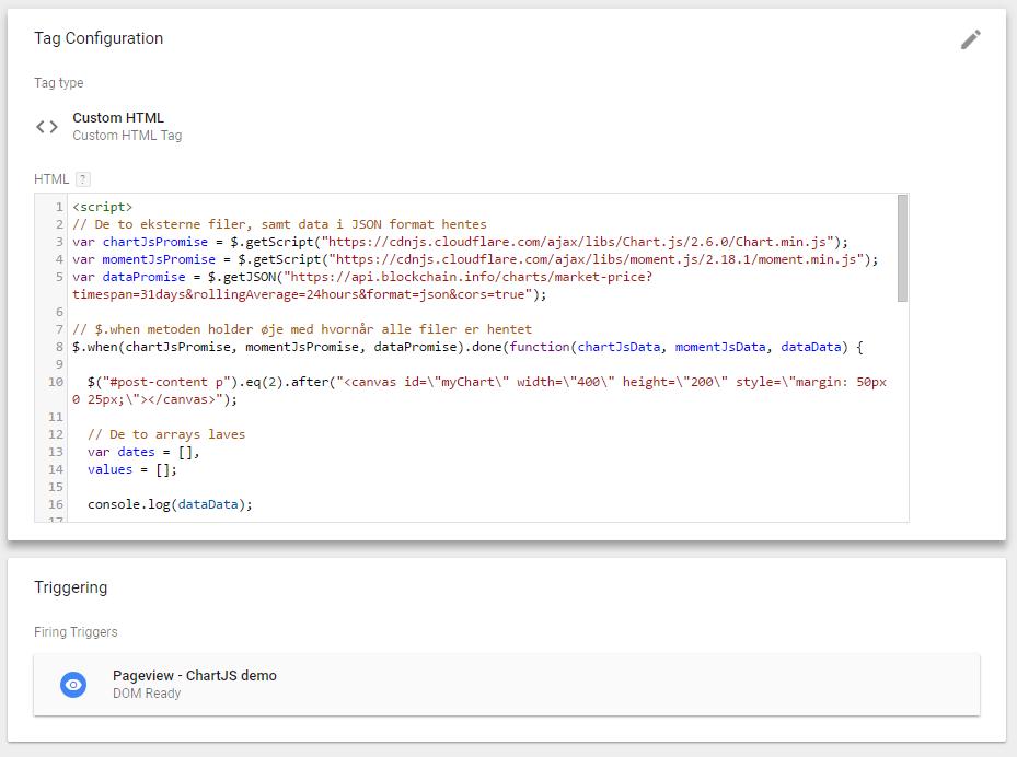 Custom HTML Tag med alt koden.