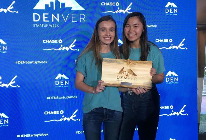 Mia Hayden and Melanie Zhou