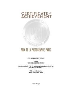 PX3 Award 2018