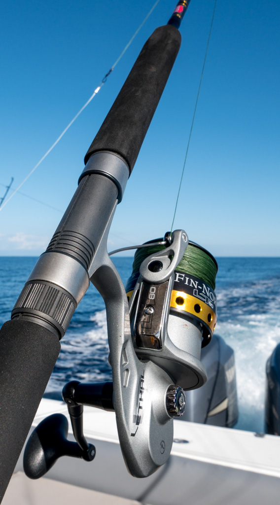 Our Fin-Nor bottom fishing reels