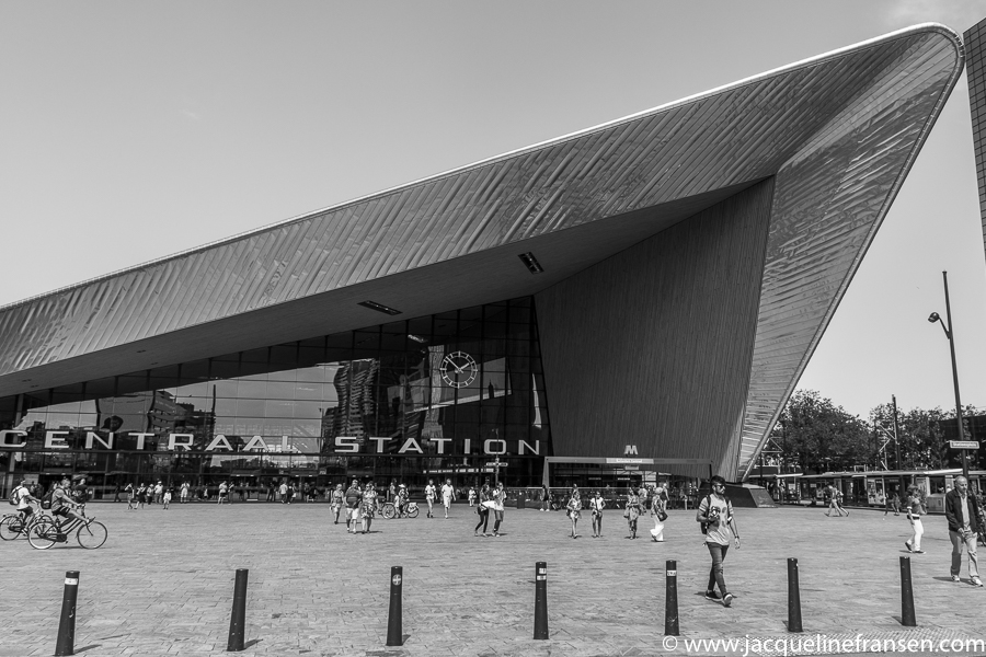In beeld – Dagje Rotterdam in zwart/wit