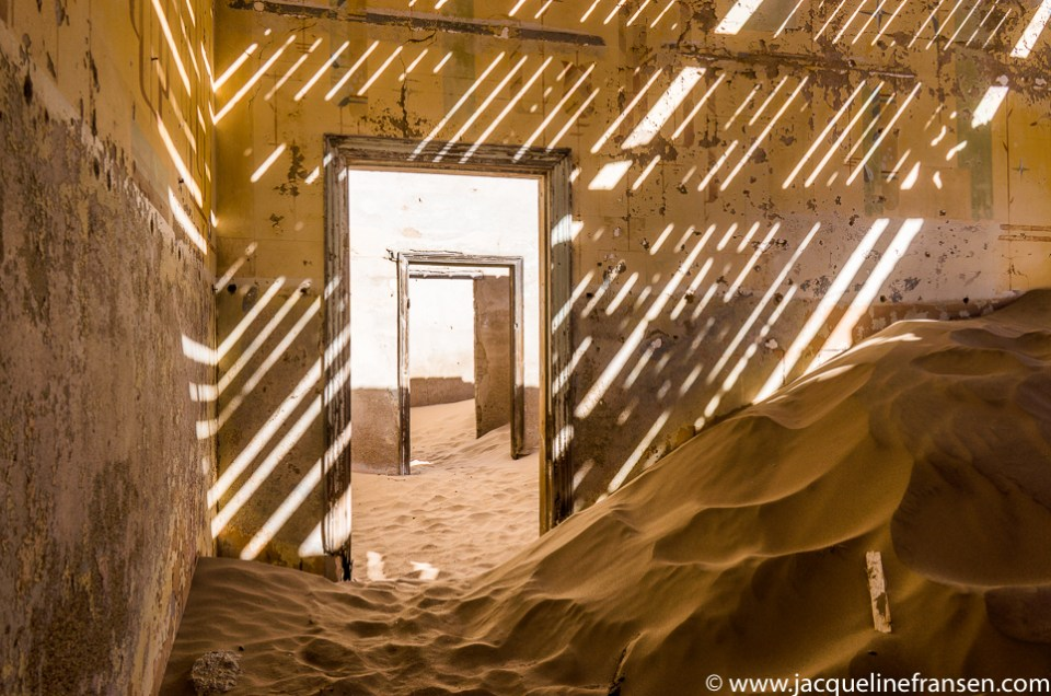 Urban exploration in Kolmanskop