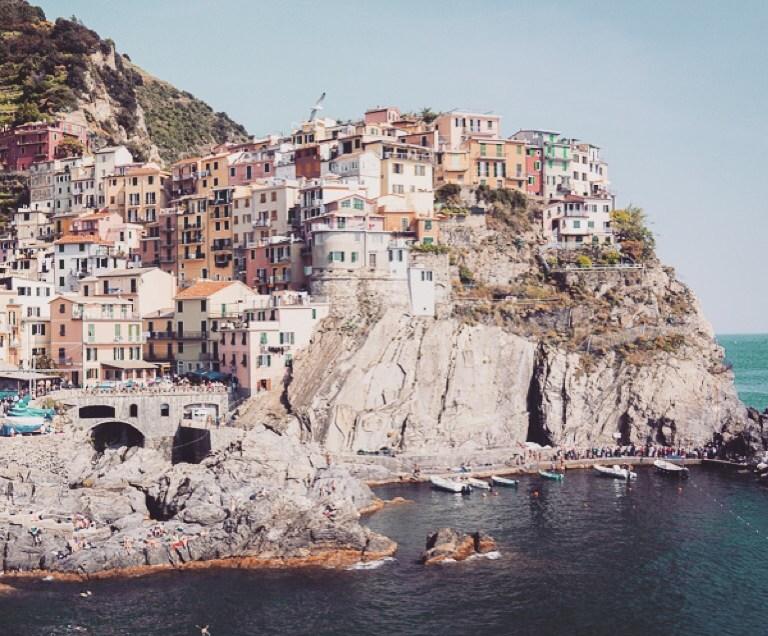 Met de trein naar en wandelen in de Cinque Terre