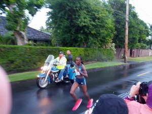 Honolulu Marathon womens winner 2014