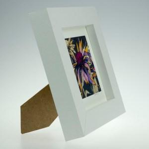 Echinacea on Umber-Framed Prints - Small Square-Pensthorpe Natural Park