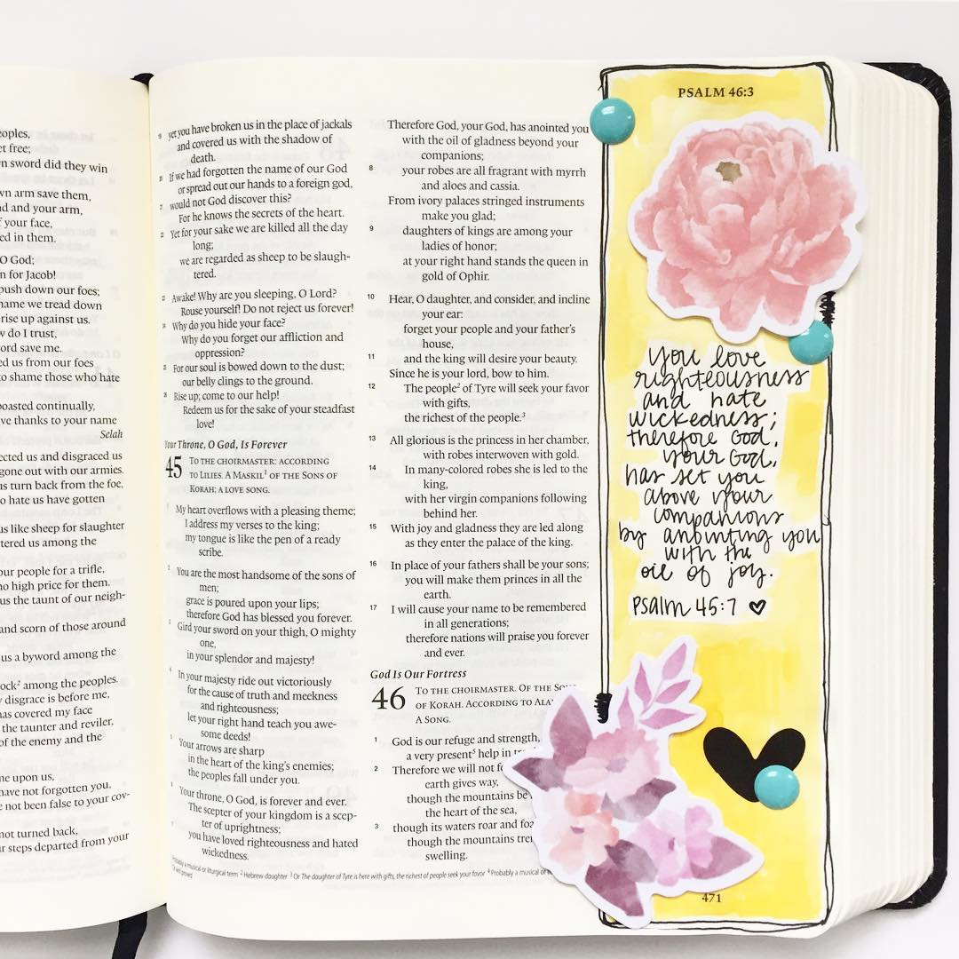 Psalm 457 illustratedfaith writtenworship faithdocumented biblejournaing journalingbible faith bibleverse biblearthellip