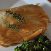 Bundled Up Chicken in phyllo recipe Jacquelynne Steves