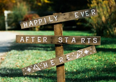 Happily ever after sign