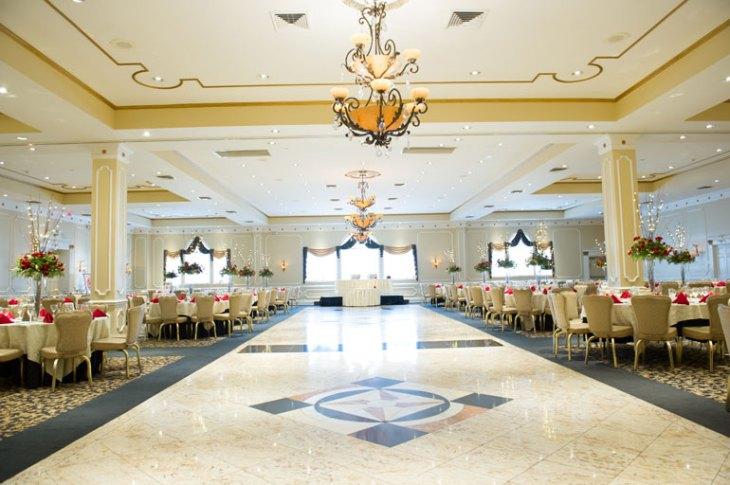 Beautiful Wedding Reception Setup