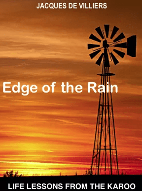 Edge of the Rain author Jacques de Villiers