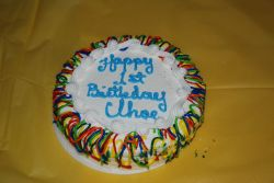1er anniversaire de Chloé.